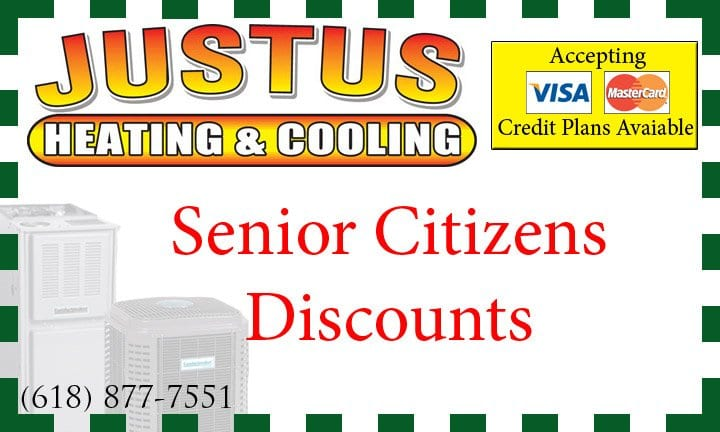 senior citizen discount heating and ac granite city illinois