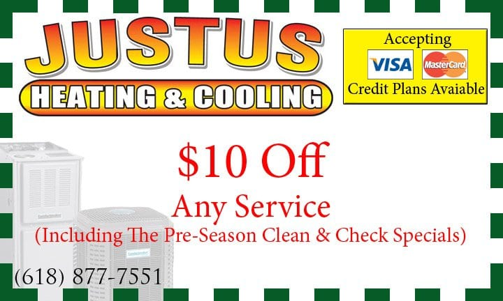 $10 off heating cooling cleaning granite city il